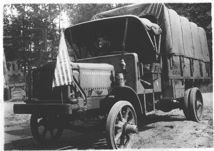 Type 2 Liberty Truck Flagged