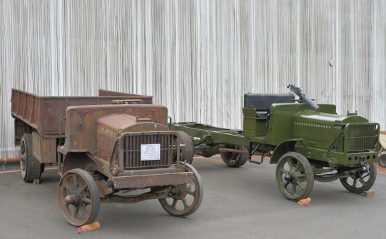 LeMay Collection E.G.Budd Steel Body on 2nd Series Truck