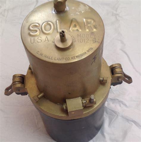 'Solar' Brand Acetylene Gas Generator
