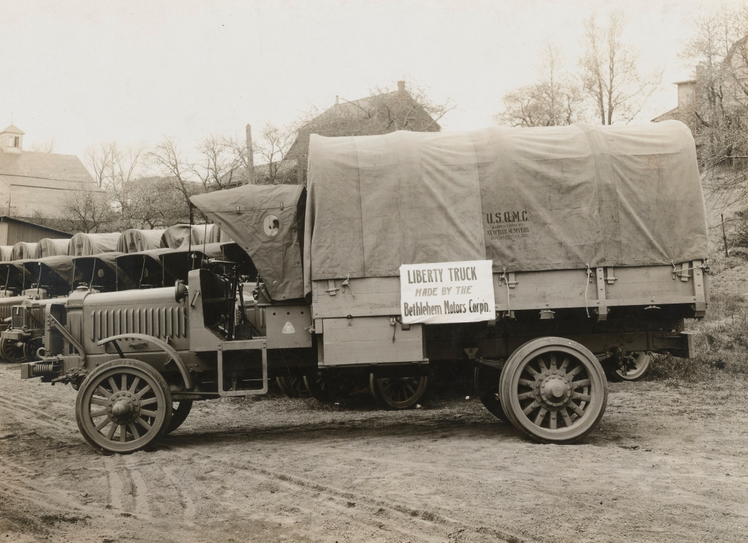 Bethlehem Motor Co. liberty Truck, 1918