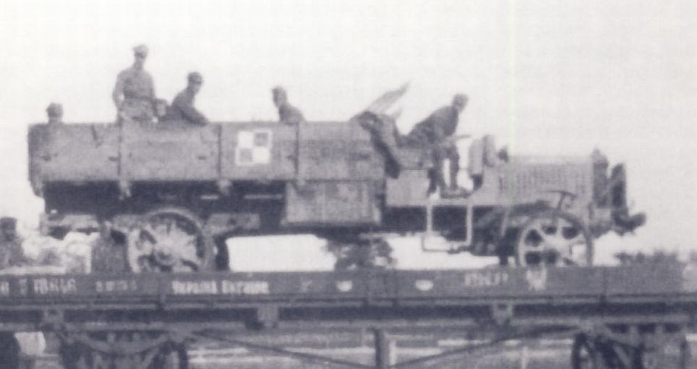 Polish AirForce truck, 1919