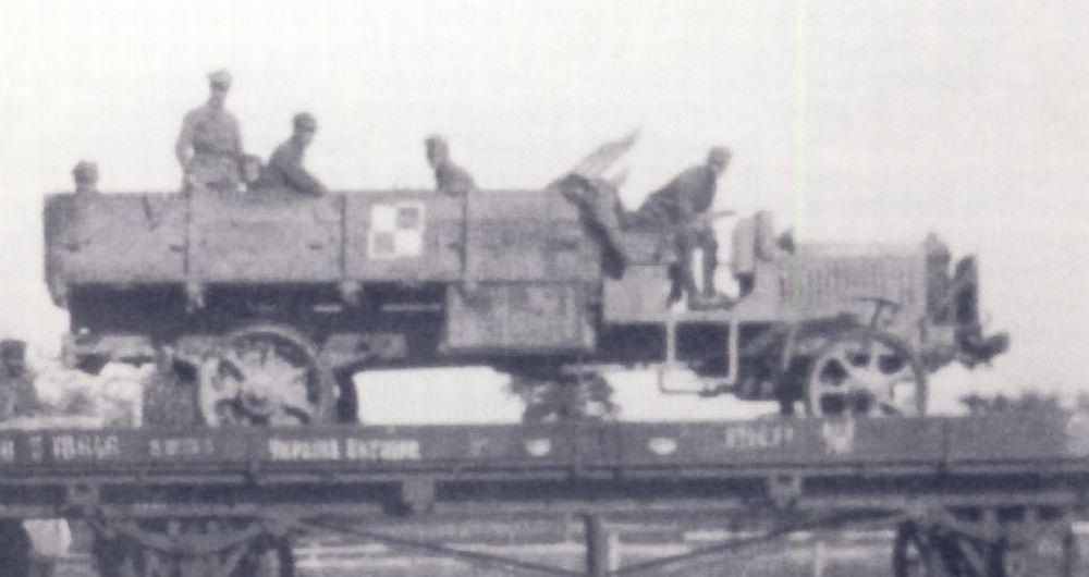 Polish AirForce truck, 1919