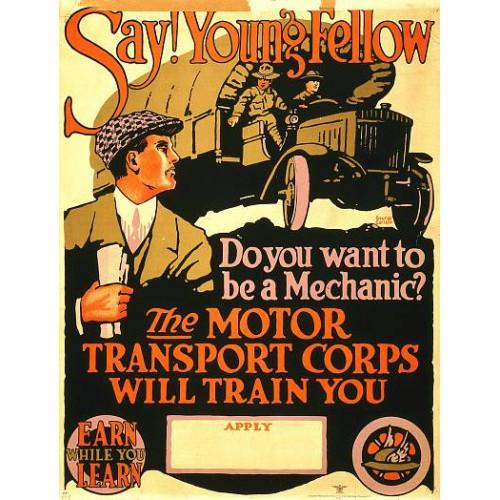 Motor Tranpsort Poster