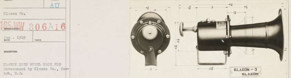Liberty Horn contract photo from NARA